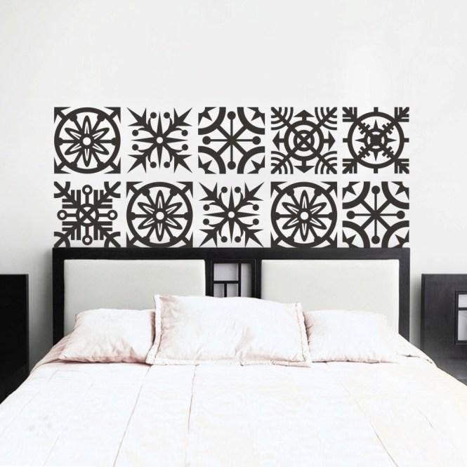 Baroque Headboard Wall Sticker