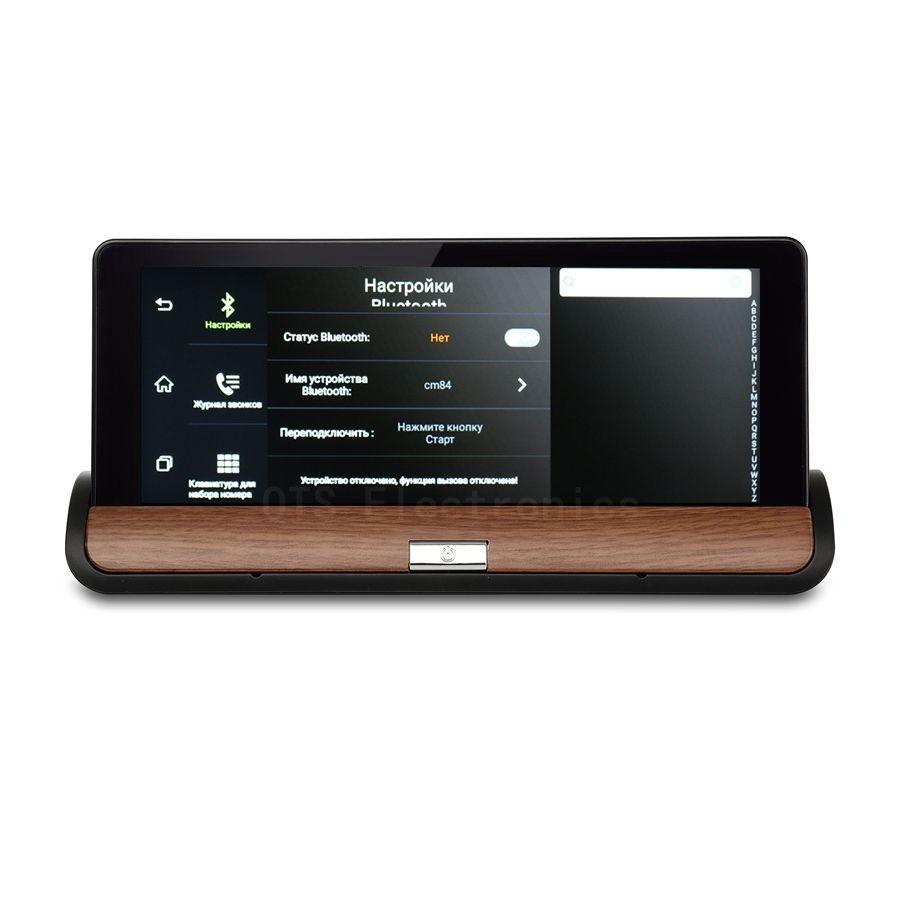 Udrive 7 inch 3G GPS WiFi Hotspot Android 5.0 Dashboard GPS Navigation Dual Lens Bluetooth FHD1080P 1GB RAM Rear View Camera DVR