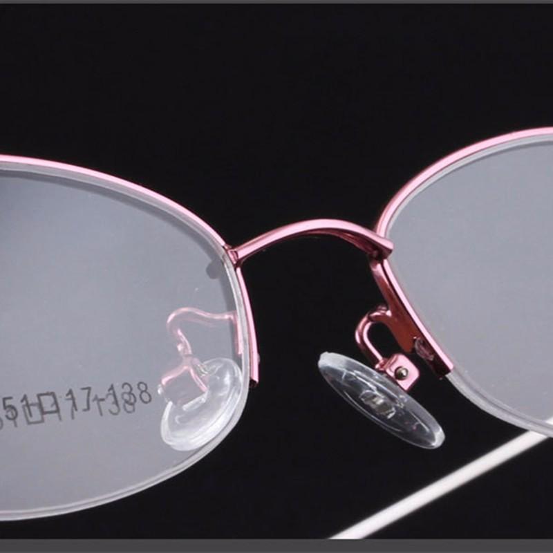 √2017 wanita bingkai optik untuk mencapai setengah bingkai kacamata bingkai  super cahaya komputer memori paduan bingkai - a625 ee2cf34f75