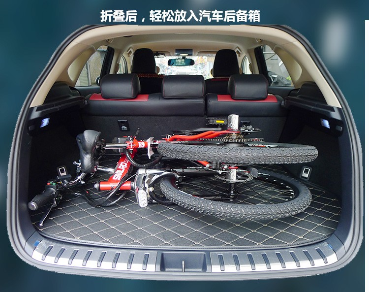 HTB1AaF8NFXXXXaBaXXXq6xXFXXXY - Authentic X-Entrance model 21 velocity 26 inch 20A 48V 500W Lithium Battery Electrical folding Mountain Bike downhill Bicycle ebike
