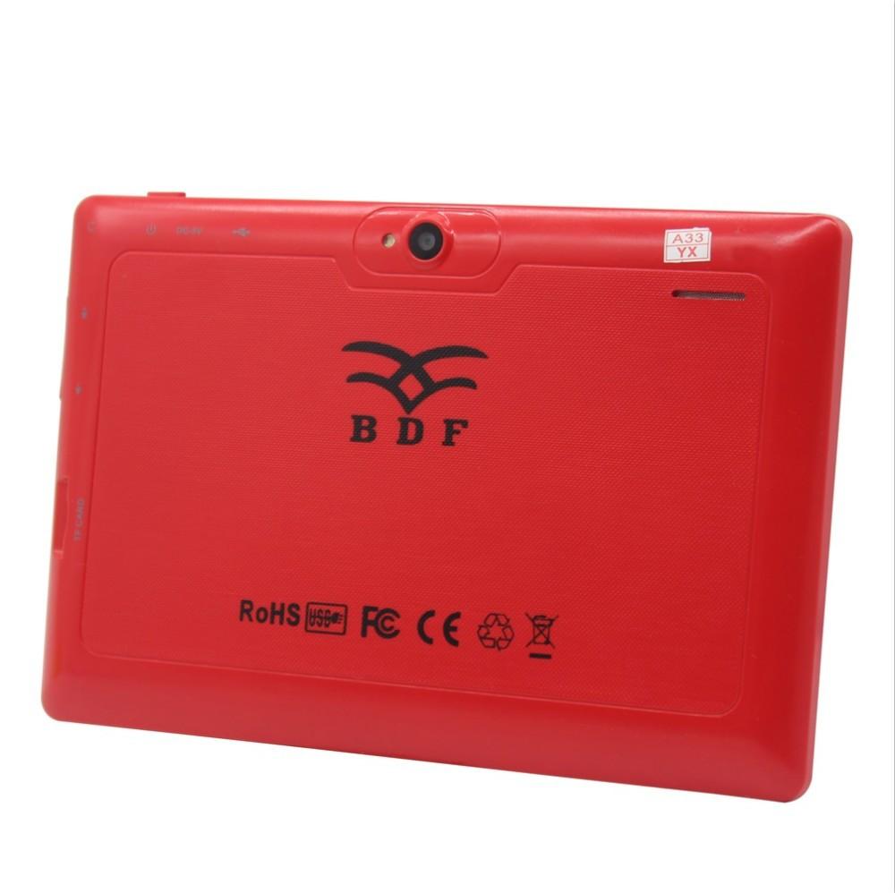 1GB 16GB Quad Core 7 טבליות אינץ מחשב wifi bluetooth OTG Levante UD לבנטה דפוס באיכות טובה טאב 7 אינץ tablet pc 7 8 9 10