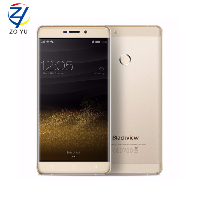 Newest Blackview R7 5.5'' 4G LTE Mobile Phone Android 6.0 MTK6755 Octa Core 4GB+32GB Cellphone 3180mAh 13MP Touch ID Smartphone