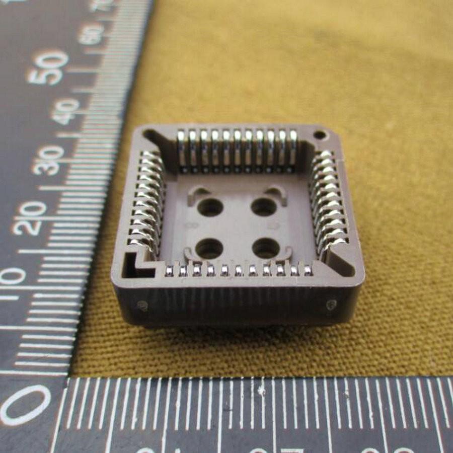 X50pcs Brown Jalur Blok 44 P Ic Pemegang Chip Pin Plcc44 Peeredam Guncangan Motor Smash Titan Ukuran 15cm Sepasang Getsubject Aeproduct