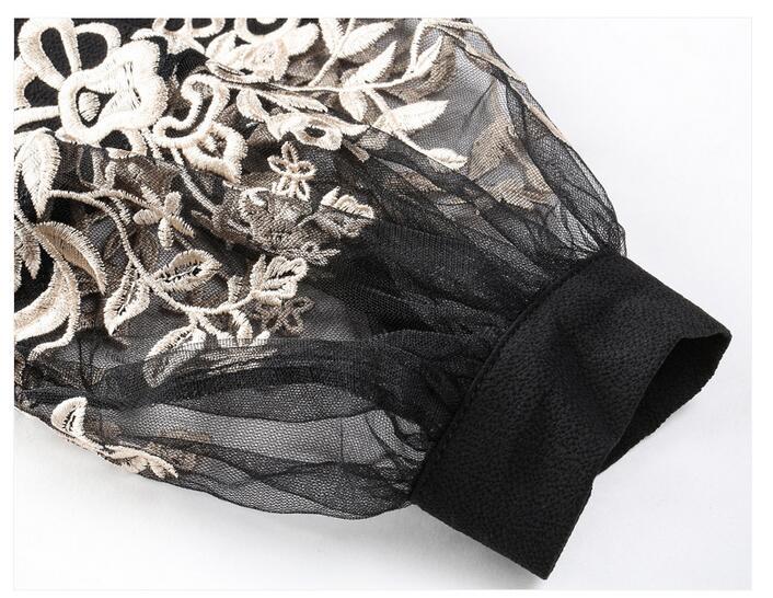 HTB1GgbvOVXXXXcKXFXXq6xXFXXXz - 2017 Spring Women Elegant Hollow Princess Long Sleeve Brand Silk Blouse Shirts white/black embroidery Shirts Tops Female Blusas