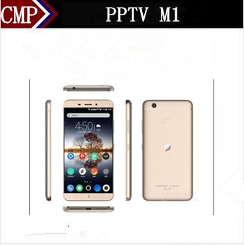 "Original PPTV M1 4G LTE Mobile Phone Octa Core Android 5.0 5.5"" FHD 1920X1080 3GB RAM 32GB ROM 13.0MP 5000mAh Fingerprint Type C"
