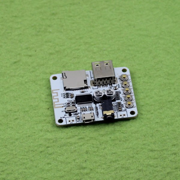 Bluetooth audio decoding receiver board playing with USB ...