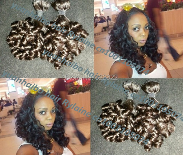 Hot Funmi Hair Top A Quality Pcs Lot B Brazilian Aunty Funmi Hair Bouncy