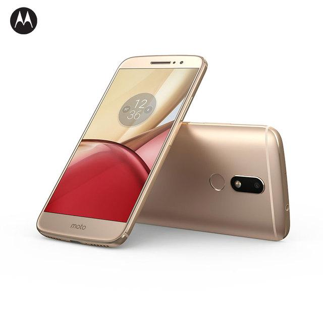 "NEW 2016 Original Motorola Moto M XT1662 4GB RAM 32GB ROM 4G LTE 5.5"" Android 6.0 Octa Core 8.0MP+ 16.0MP 1920*1080"