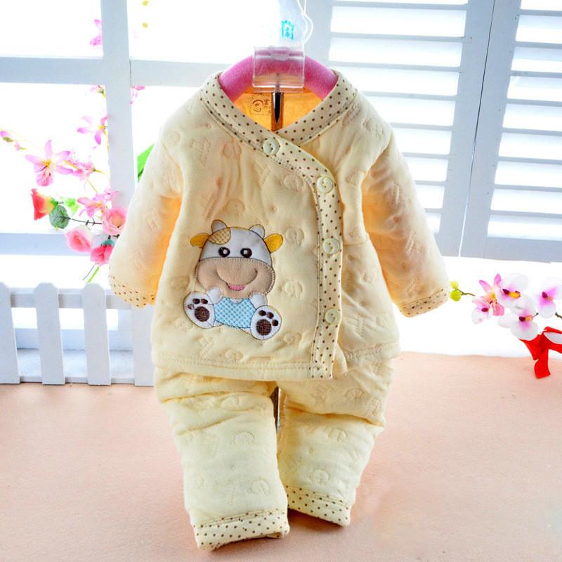 1738521046_1110716925  Retail child lady garments autumn & winter child clothes lengthy sleeve child kleding women garments winter boy garments set HTB1K1