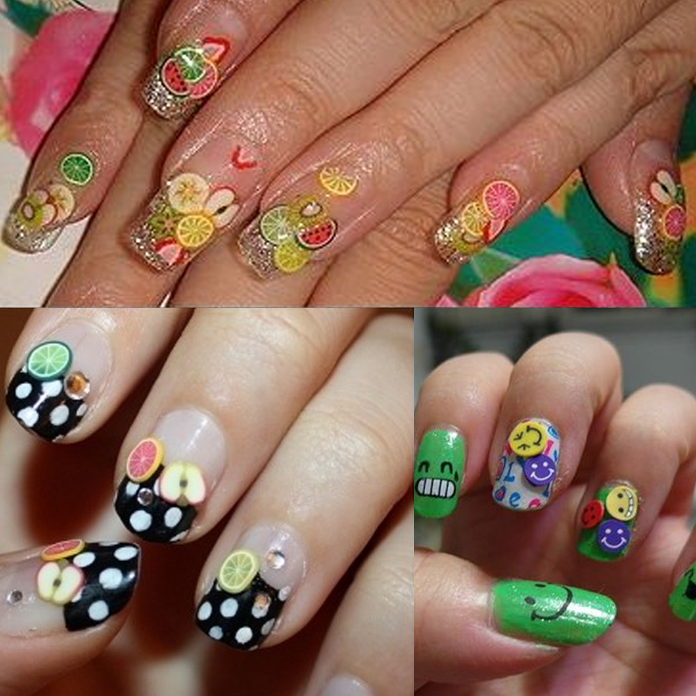 Polymer clay nail art tutorial nail art ideas polymer clay nail art tutorial ideas prinsesfo Image collections