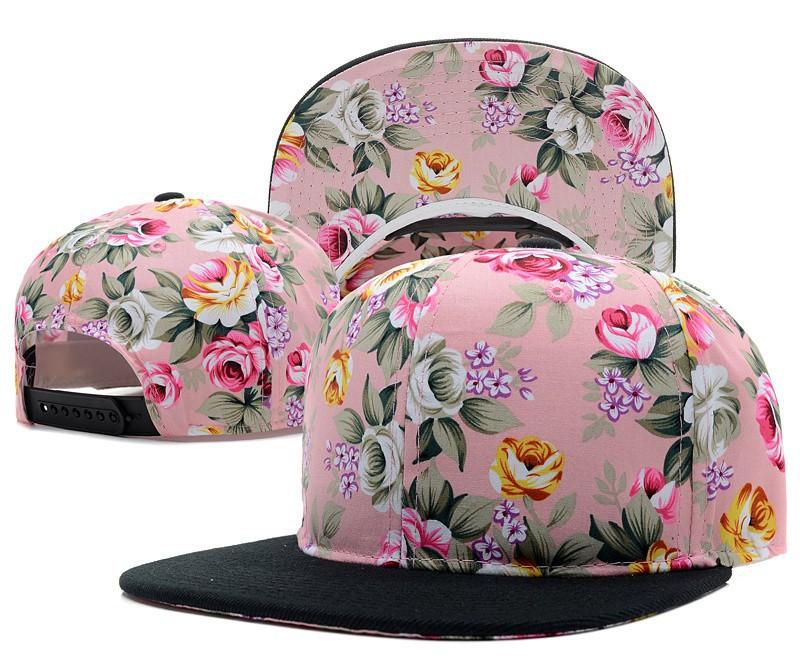 Composite Bats wholesale baseball caps hat women men flower snapback hats snap backs brand Adjustable fashion baseball hip hop cap sun hats