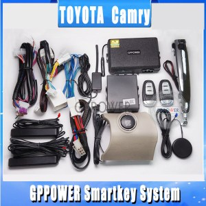 2013 More fashion, Alarm system for Toyota Camry, push
