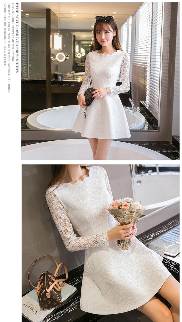 Vestido Rodado Branco com renda