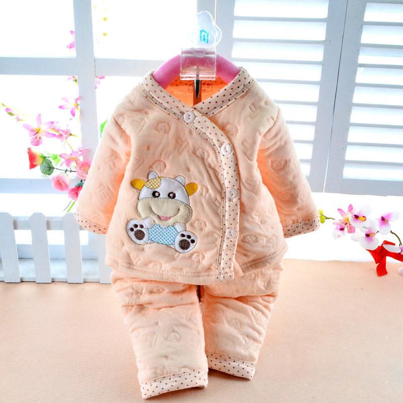 2550170742_1110716925  Retail child lady garments autumn & winter child clothes lengthy sleeve child kleding women garments winter boy garments set HTB1SIELKpXXXXbKXFXXq6xXFXXXa