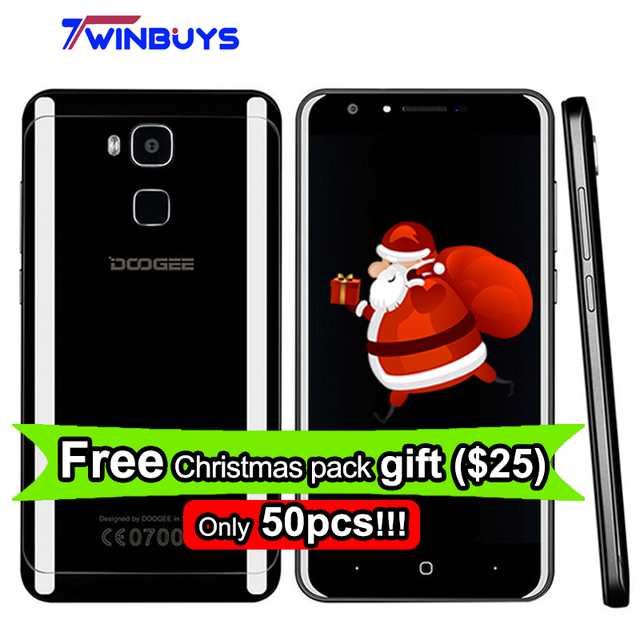 "Doogee Y6 PIANO Black 4G LTE Smartphone 3200mah 5.5""Android 6.0 Octa core MTK6750 4G RAM 64GB ROM Fingerprint 13MP Mobile Phone"