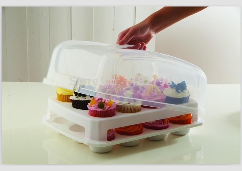 Plastic Cake Storage Container