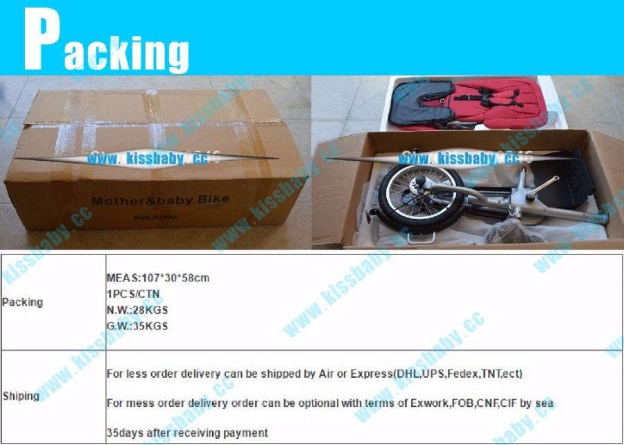 HTB1Z5FmOpXXXXXNapXXq6xXFXXXA - 3 wheel folding stroller bicycle mother baby taga  nucia bike