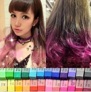 cheap gra nt neon soft pastels hair dye stick chalk inhair color from health beauty on