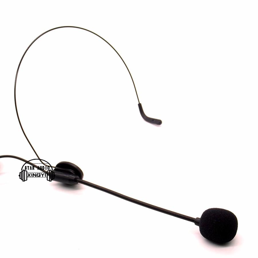 מקצועי Headworn Earhook אוזניות מיקרופון קונדנסר מיקרופון עבור גיטרה סקסופון חצוצרה כינור, פסנתר, סקסופון, כלי נגינה