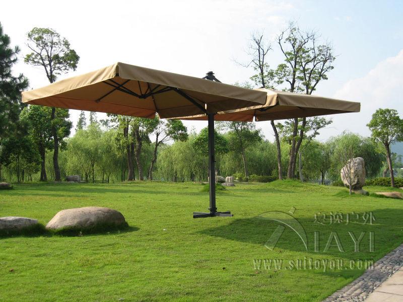 3*3 Meter Deluxe Big Patio Garden Umbrella With 2 Covers