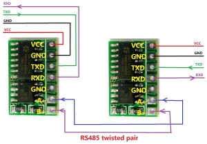 Mini Automatic Control SP485 IC 5V RS485 TO TTL 232 Module
