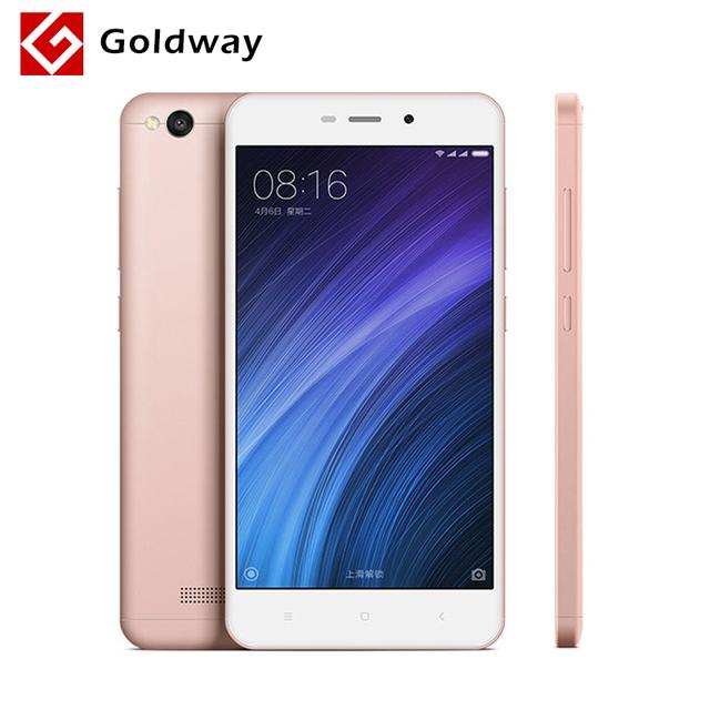 "Original Xiaomi Redmi 4A 2GB RAM 16GB ROM 5.0"" 4G FDD LTE Snapdragon 425 Quad Core Mobile Phone 3120mAh Battery Metal Body"