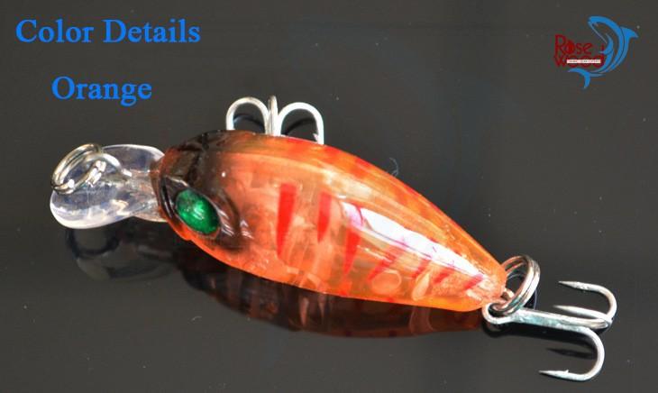 2015 Hot fishing wobblers set wobbler for trolling 4.5g5cm hard bait artificial fishing tackle lure japan material de pesca   (1)