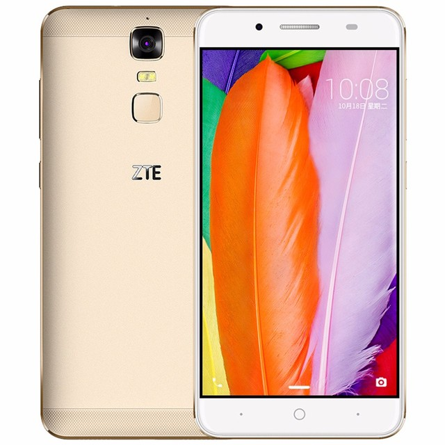 "Original ZTE Blade A2 Plus 5.5"" FHD 1920x1080 Octa Core 5000mAh Reverse Charge 3G RAM 32G ROM Android 6.0 Metal Body FingerPrint"