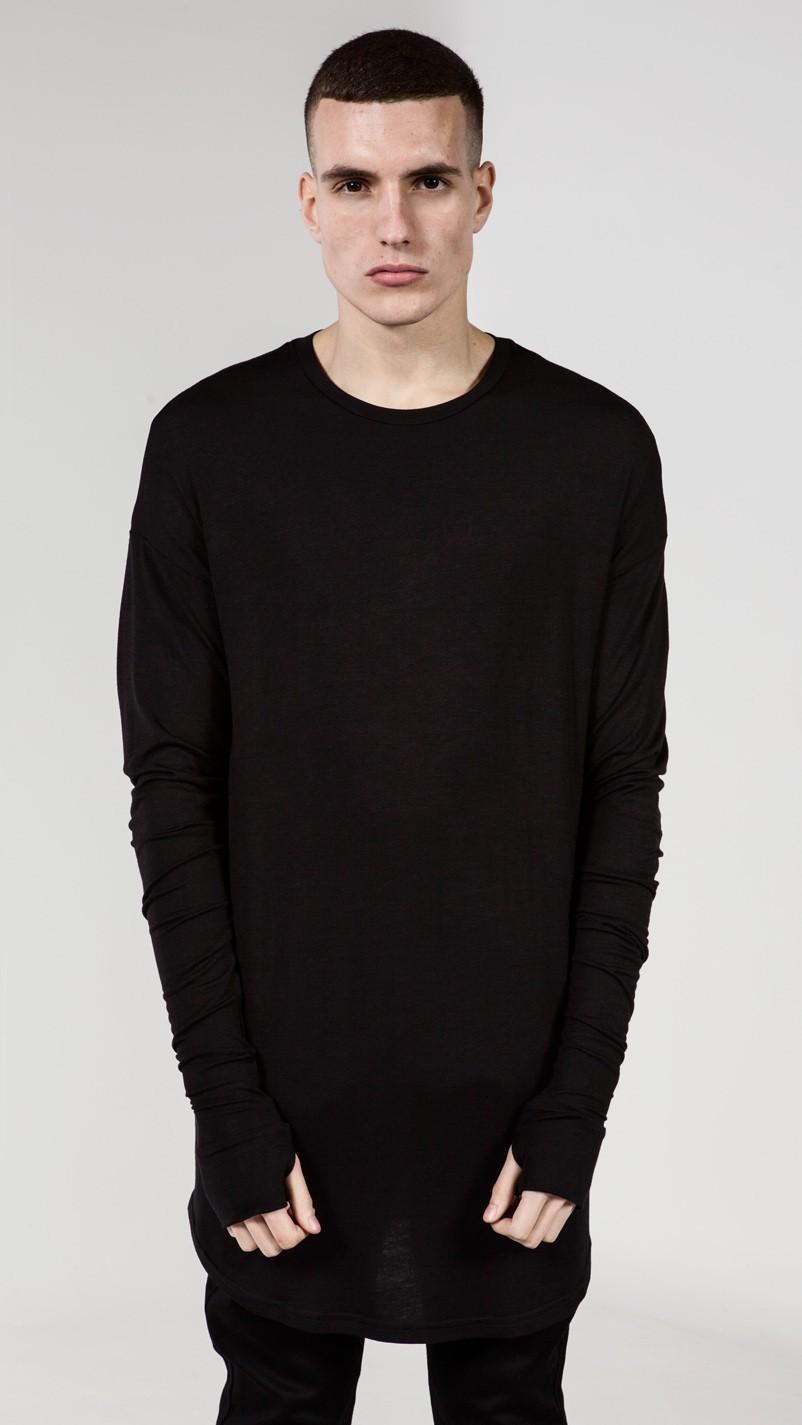Wholesale Long Style Mens Tops T Shirt Full Sleeve T Shirt ...