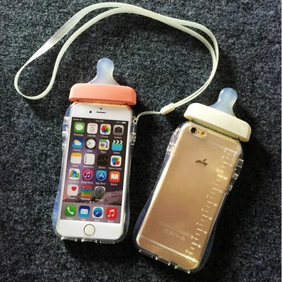 Cute Baby bottles Phone Case for iphone 6 6s 6plus 5 5s 4 ...