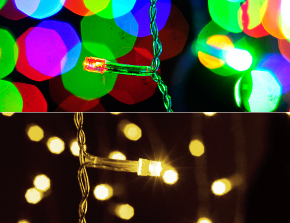 Christmas Lights Outdoor Waterproof 3.5m Droop 0.3-0.5m Curtain LED String Lights LED Lights Decoration Light String Outdoor