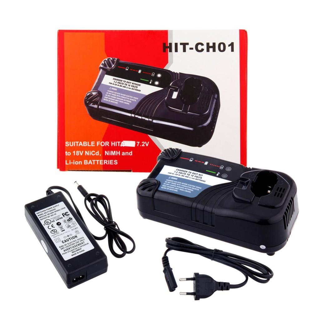 4x Kualitas Tinggi Universal Charger Untuk Hitachi Cordless Bra Kait Depan Sexy Buka Push Up Bra8052 Power Tool Battery For Uc14yfa Uc18yg Uc18yrl