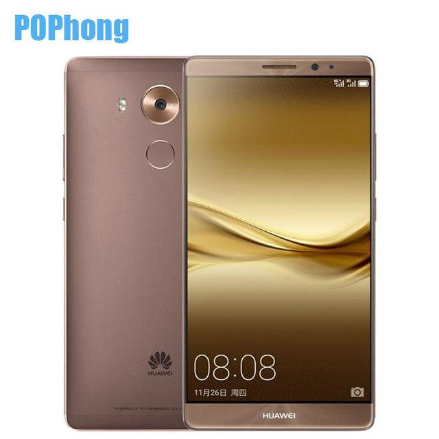 Huawei 8 NFC отпечатков пальцев 6 дюймов мобильный телефон 4 ГБ оперативной памяти 128 ГБ ROM Octa ядро кирин 950 LTE две SIM карты