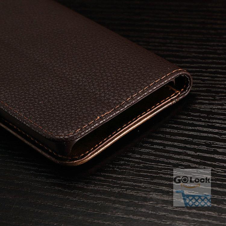 יוקרה הארנק סגנון עור PU עבור Lenovo S850 לכסות וינטג ' עם עמוד אופנה לוגו המקרים שלהלן