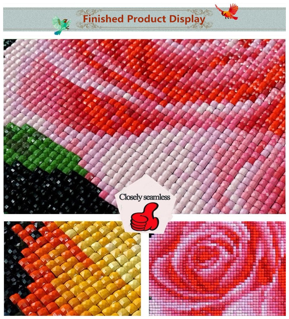 Nberlian Mosaik Lukisan Cross Stitch Berlian Bordir Persegi Set F30 10a5 Wallpaper Dinding Sticker Motif Bunga Stripe Daun Aeproductgetsubject
