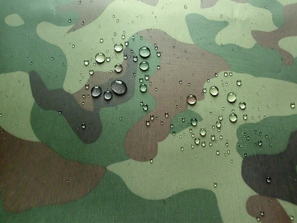 Wide 150cm Oxford Cloth Camouflage Printed Silver Waterproof Fabrics Outdoor Tents Awning