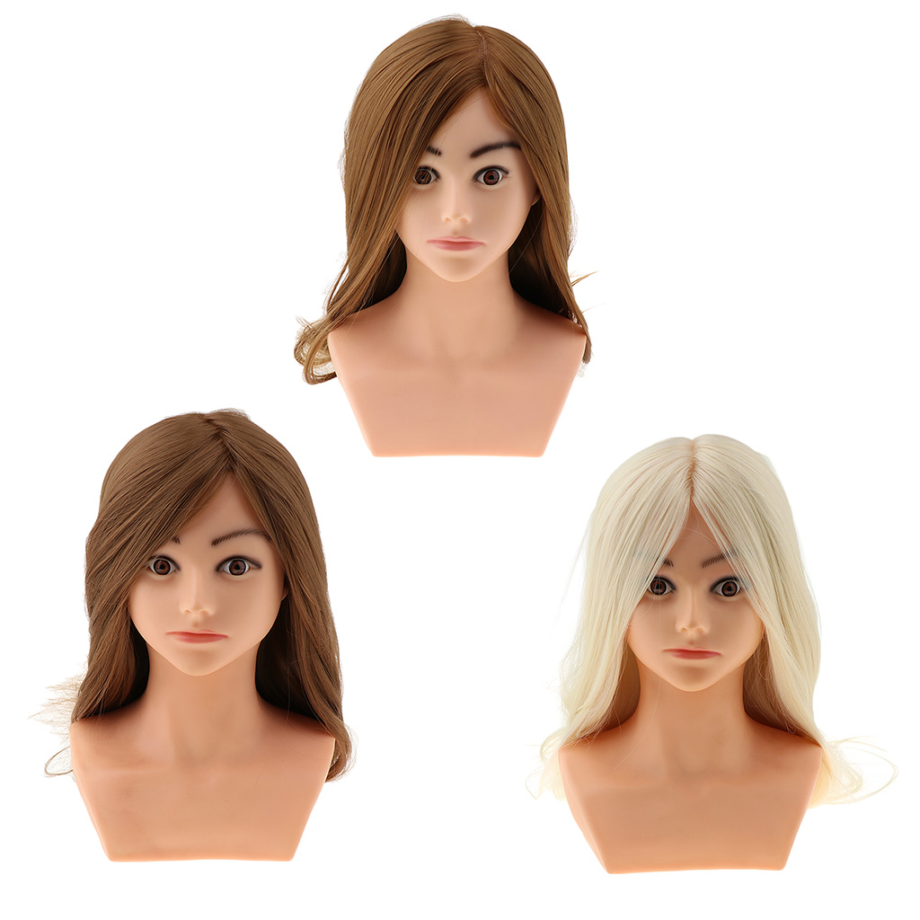 Hair Styling Mannequin Head Training Manikin Cosmetology