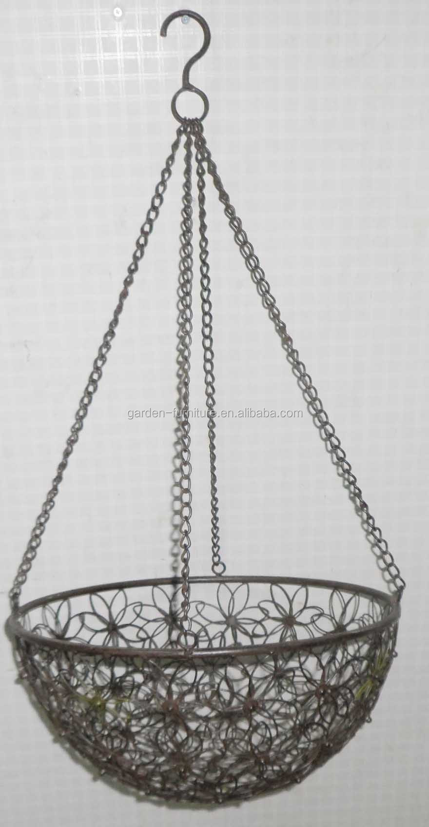 Wholesale Handicraft Garden Outdoor Decor Hanging Flower ... on Decorative Wall Sconces For Flowers Hanging Baskets Delivery id=29265