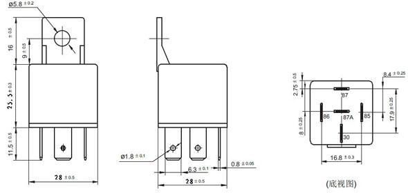Wholesale 12v 24v 4pin 5pin 30a 40a 60a 80a Relay G8hl H71