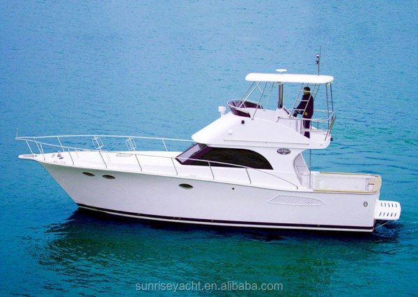 Sunrise 42 Fiberglass Boat Hull For Sale Luxury Yacht ...