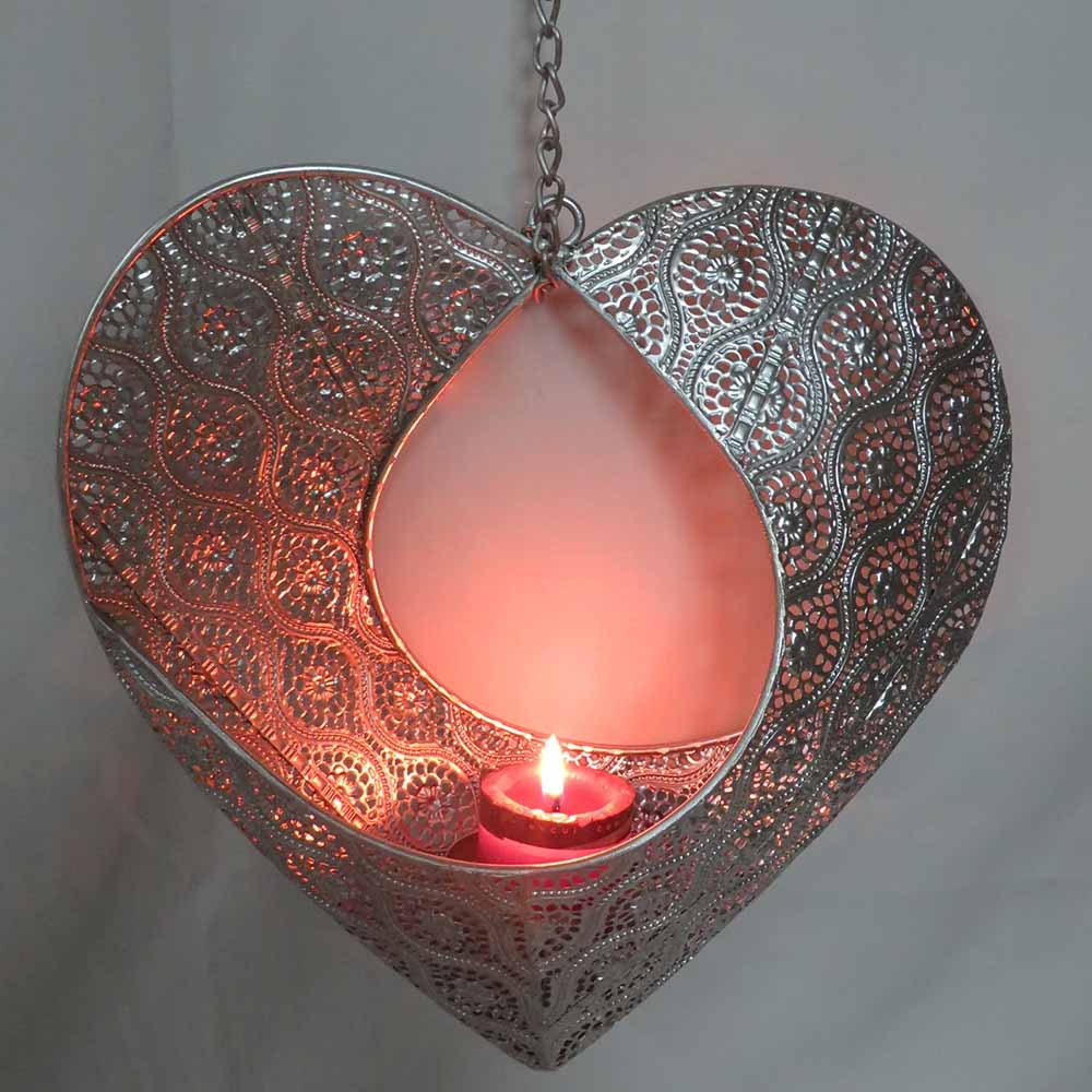 Wholesale Heart-shape metal hanging candle holder ... on Metal Candle Holders For Wall id=58847