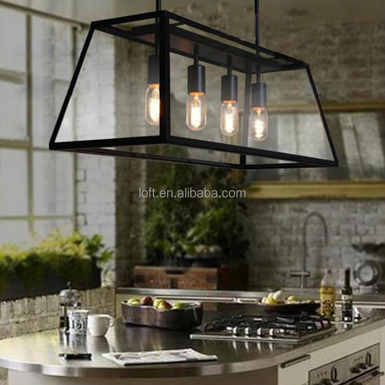 Europenne Rtro Lampe Suspendue Vintage Table De Cuisine