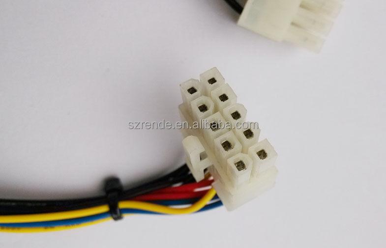 Molex 10 Pin Wire Harness Multi Core Cable For Medical