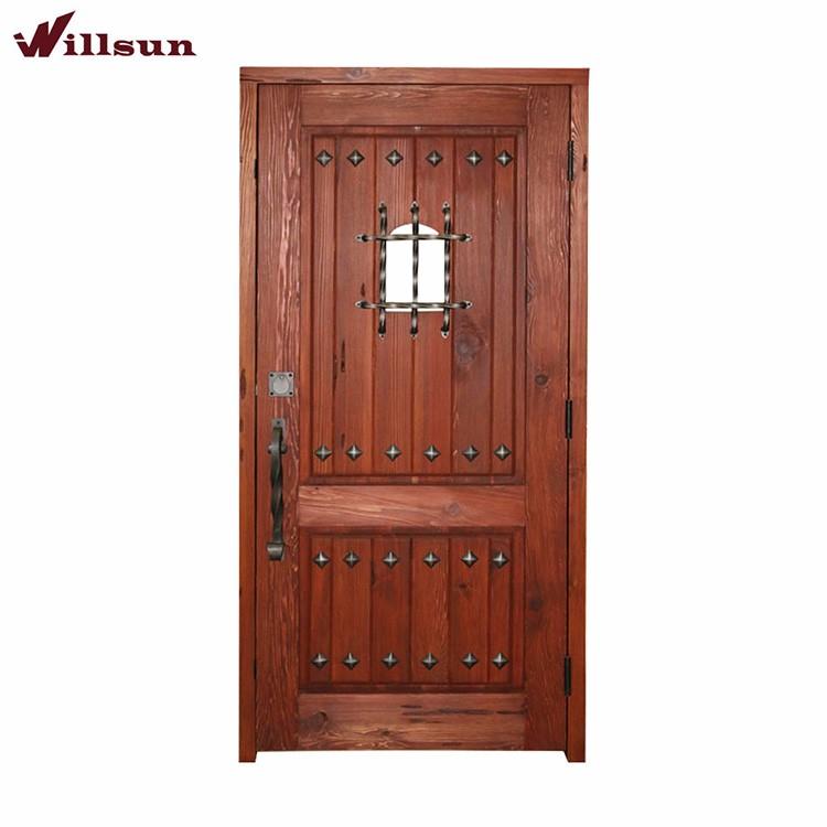 wooden fire resistant doors metal star decoration wrought iron security wood door buy security door wrought iron security wood door metal decoration