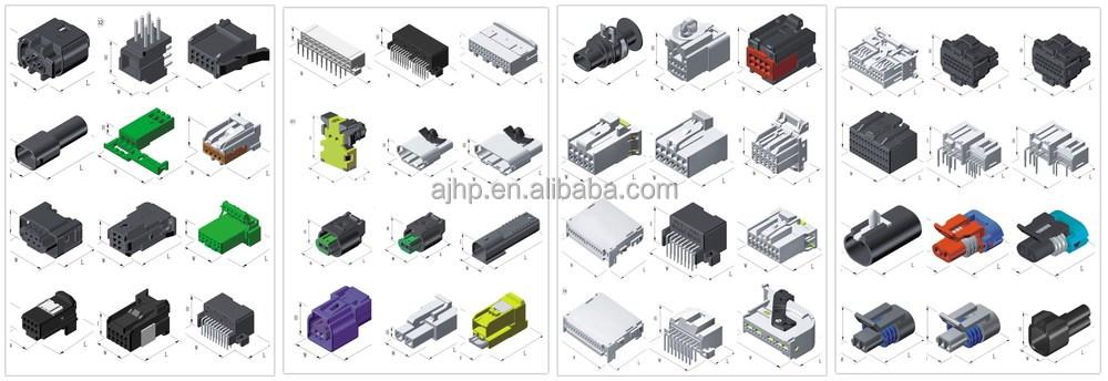 Amp 16 P Automotive Electrical Connectors Oem