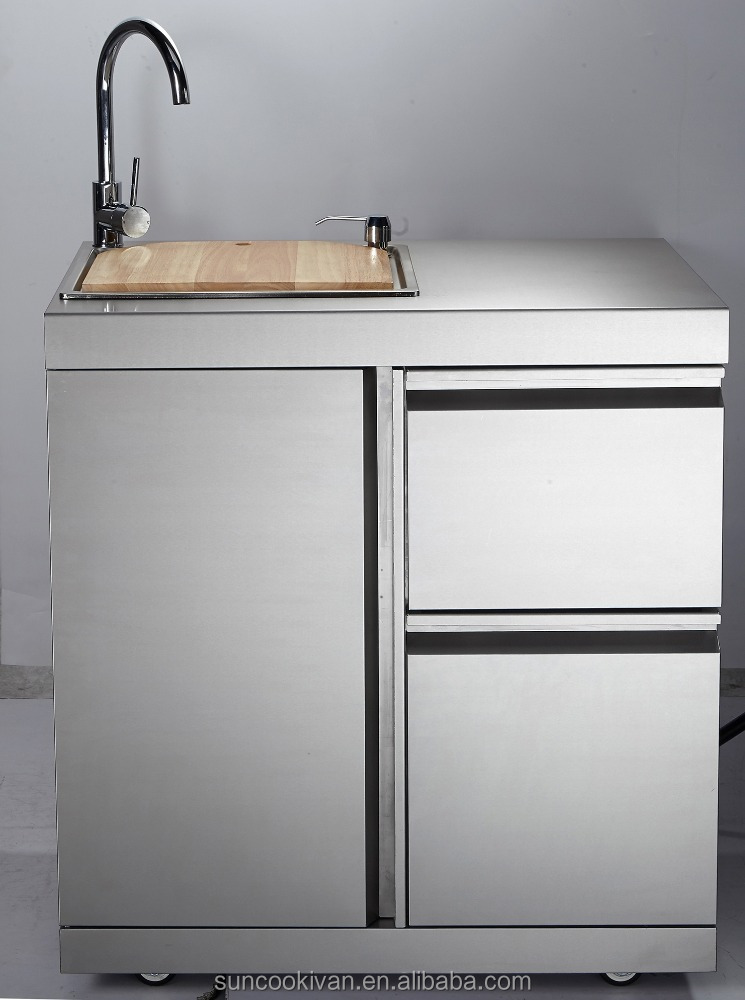 Stainless Steel Outdoor Sink CabinetWith Stainless Steel Sink Buy Sink CabinetSink Module
