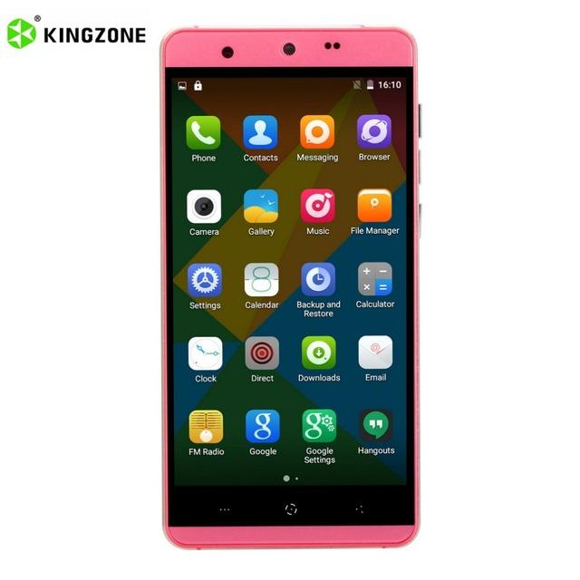 Original Kingzone N5 5.0 Inch HD Screen Smartphone For Android 5.1 MT6735 Quad Core 2+16GB 4G 2600mAh Dual Camera Mobile Phone