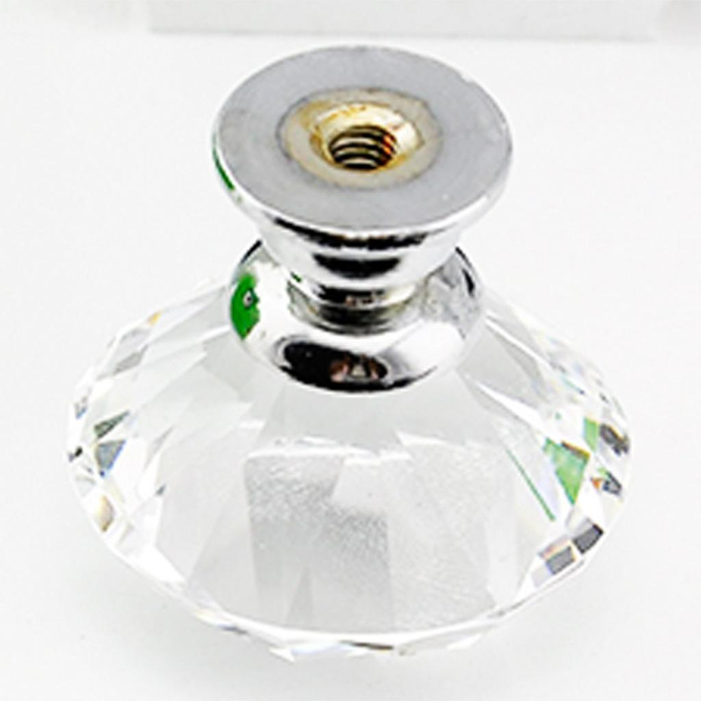 10 Pcs 30mm Berlian Bentuk Crystal Glass Cabinet Knob A453 Heatshrink Cable Kabel Isolasi Bakar 3mm Panjang 1meter Hitam Aeproductgetsubject