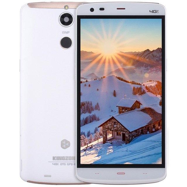 Kingzone Z1 Plus Android 5.1 4G Smartphone 5.5 inch MTK6753 64bit Octa Core Fingerprint Sensor 2GB RAM 16GB ROM 13.0MP Cellphone