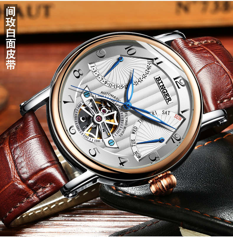 Switzerland watches males luxurious model BINGER enterprise sapphire Water Resistant leather-based strap Mechanical Wristwatches B-1172-Four HTB1GfN3QXXXXXXPXXXXq6xXFXXXd